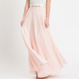 Petite Amelia Full Maxi Skirt